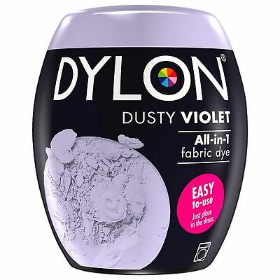 Dylon Machine Dye Pod Fabric Clothes All in One - Dusty Violet 350g