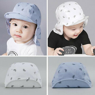 Boys Kids Baby Toddler Newborn Sunhat Beret Summer Baseball Hat Shawl Sun Cap