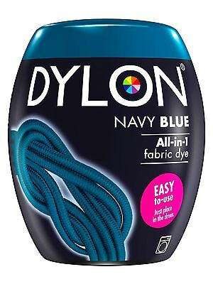 Dylon Machine Dye Pod Fabric Clothes All in One - Navy Blue 350g