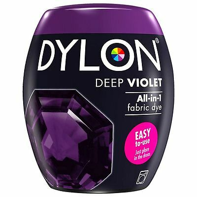 Dylon Machine Dye Pod Fabric Clothes All in One - Deep Violet 350g