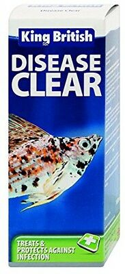 King British Disease Clear, 100 Ml FREE Shipping NEW
