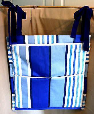 (SALE) Wheelchair Bag, Use back of wheelchair/pushchair, handmade padded. zipped