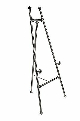"Display Easel - Gunmetal finish 60"" / 1520mm - Quality Product - Free UK Postage"