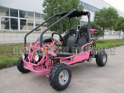 TWIN SEATER GoKart ATV REVERSE 110cc Junior Dune Buggy Semi Auto Off Road Save