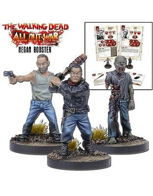 The Walking Dead All Out War - Negan Game Booster -  Mantic - 1St Class Next Day