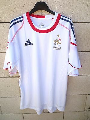 Maillot Equipe de FRANCE Adidas FORMOTION training football shirt PRO blanc  L 2661c2942581