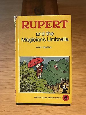 Vintage Rupert Bear Book, The Magicians Umbrella