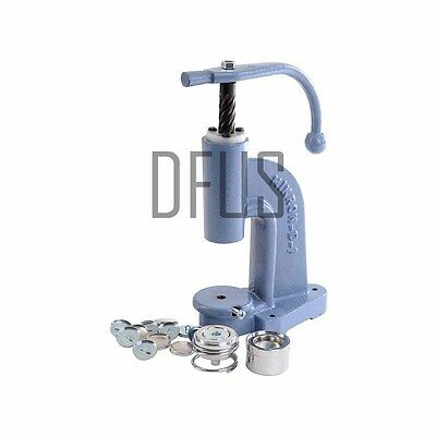 Upholstery Button Making Set - Button press, die, cutter & blanks FREE POSTAGE