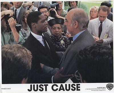 """Just Cause"", 1995 vintage movie photo, Sean Connery, Laurence Fishburne"
