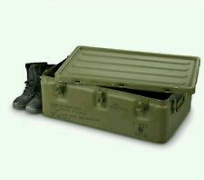 32x20x11 Military Aluminum Medical Chest Watertight Storage Bug-Out Survival Box