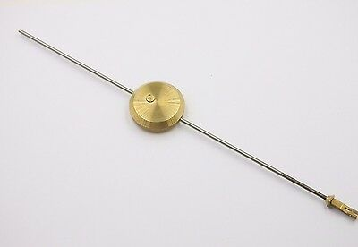 French Clock Pendulum with Brass Hook Clock Replacement Part