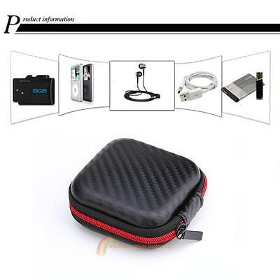 Waterproof Carrying Case EVA Box Storage Pouch Bag for Headset Earphone Earbuds