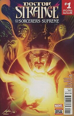 Doctor Strange Sorcerers Supreme #1 Now Marvel Comics 10/26/16