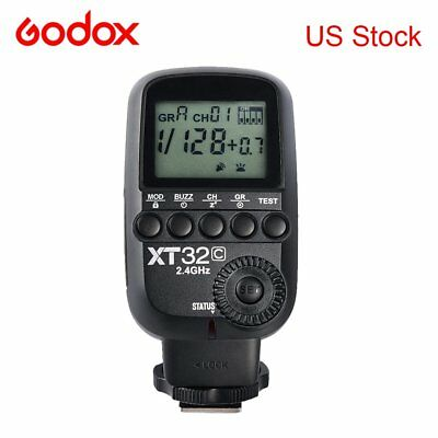 Godox XT32C 2.4G Wireless 1/8000s High-speed sync Flash Trigger for Canon