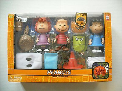 "Peanut's ""It's The Great Pumpkin, Charlie Brown"" Figure Collection Set #2"