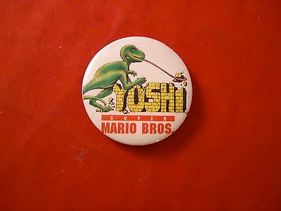 Super Mario Bros Movie Yoshi Promotional Button Pin Back Promo