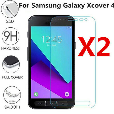 2 pcs Samsung Galaxy Xcover 4 G390F Full cover Tempered Glass Screen Protector E