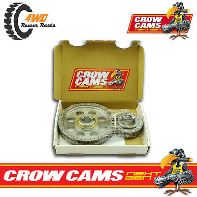 Crow Cams Ford Windsor Double True Roller Timing Chain Set 289 302 351 CS8302W