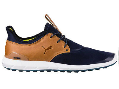Puma Ignite Spikeless Sport Golf Shoes - Peacoat/Spice