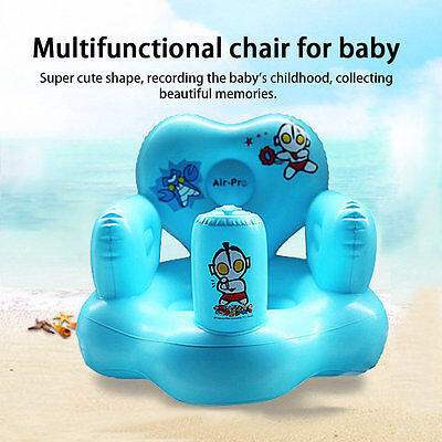 Multifunctional Portable Backrest Seat Safety Bath Infant Inflatable Sofa AU
