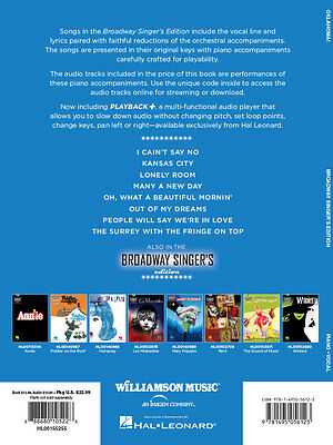 Oklahoma! -Broadway Singer's Edition - Vocal Music Book with Audio Access
