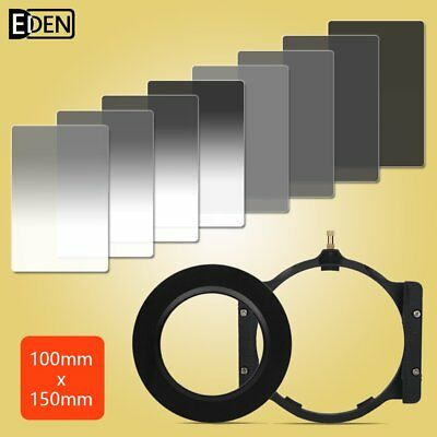 150*100mm Gradient+Complete ND2/4/8/16 Cokin Z Filter kit+Holder+72 adapter ring