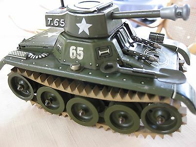 GAMA Panzer T65, Superzustand,Made US-Zone,Uhrwerk ok