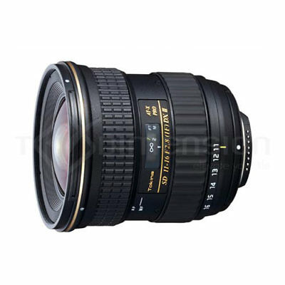 Tokina AF 11-16mm F/2.8 ATX 116 PRO DX II Lens (Nikon) Stock in EU Auténtic