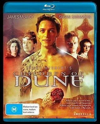 CHILDREN OF DUNE (James McAvoy) -  Blu Ray - Sealed Region B