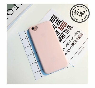 Silicone Shockproof Heart Rubber TPU Soft Case Cover For iPhone 7 7 Plus 6s 8 8P