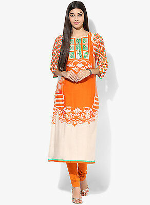 Indian Bollywood Designer New Rayon Kurti Ethnic Dress Top Tunic Pakistani