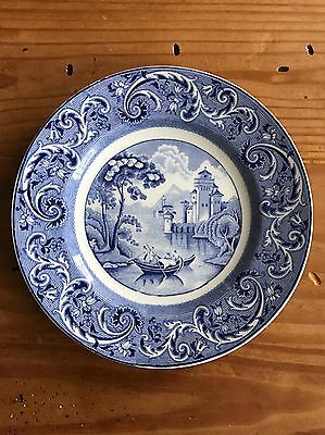 """Ridgway Venice 8"""" Bread & Butter Plate Made In England"""