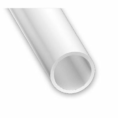 PVC White Plastic Tube - 7mm, 10mm & 12mm - 1.2-1.25mm thickness 1 metre lengths