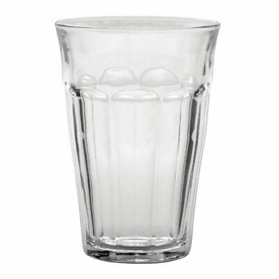 6X Duralex Picardie Hi Ball Glasses 360ml/124X88mm Toughened Drinking Tumblers