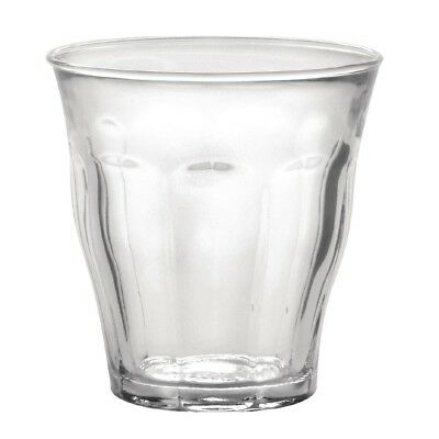 6X Duralex Picardie Tumblers 220ml 84X81mm Drinking Glasses