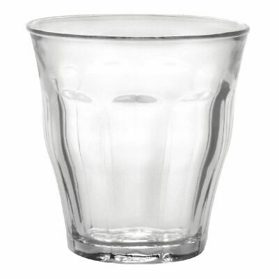 6X Duralex Picardie Tumblers 250ml 90X87mm Drinking Glasses