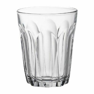 6X Duralex Provence Tumblers 220ml 91X74mm Toughened Drinking Glasses
