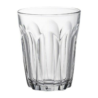 6X Duralex Provence Tumblers 250ml 98X79mm Toughened Drinking Glasses