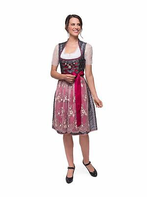 c29be8361fb04f STOCKERPOINT MIDIDIRNDL JANICE 65cm 2tlg. anthrazit - EUR 241,90 ...