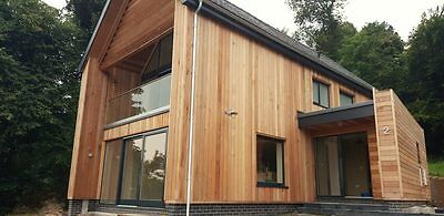 Cedar Cladding - 60m Pack of Western Red Cedar Timber Cladding T&G Profile SP01