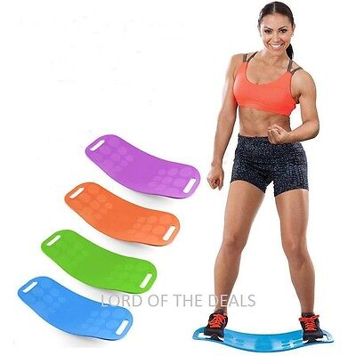 Simply Fit Unisex Balance Board Ab Toner  Bonus Workout Dvd Free Delivery