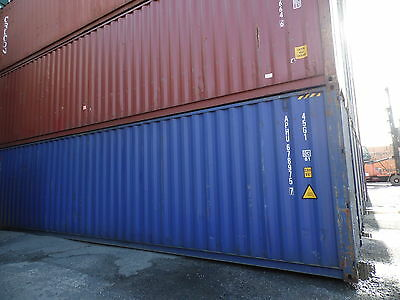 Shipping Containers 40 Foot- Csc Plated Cargo Grade- Containers Leeds