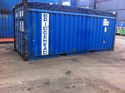 Shipping Containers 20 Ft Open Tops Used Southampton Gargo Grade