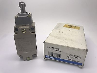 New Omron D4B-1171N Safety Limit Switch with Roller Plunger Actuator D4B1171N
