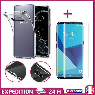 coque samsung s8 film protection
