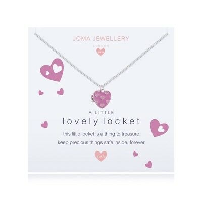 Jewellery Necklace Girls A Little Lovely Locket - Pink Heart Shaped Necklace