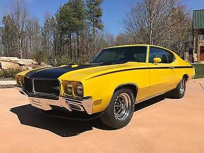 1970 Buick Skylark GSX Stage 1 #266 1970 Stage 1 Buick GSX - #266 - Fresh Restoration - Saturn Yellow