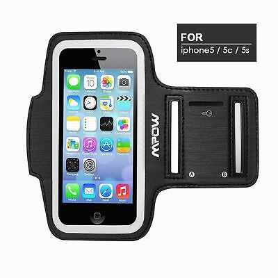 Mpow Sweatproof Sport Armband Gym Running Jogging for Apple iPhone 5/5S/5C New