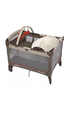Graco Pack N Play Playard with Reversible Napper and Changer, Forecaster ~