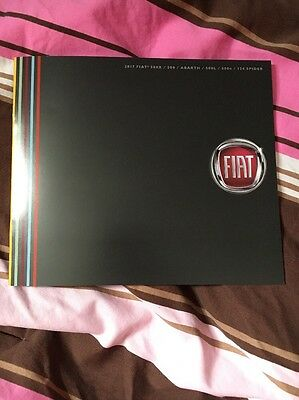 2017 Fiat 124 500 Full Line with Abarth USA Market Brochure Catalog Mode Lineup